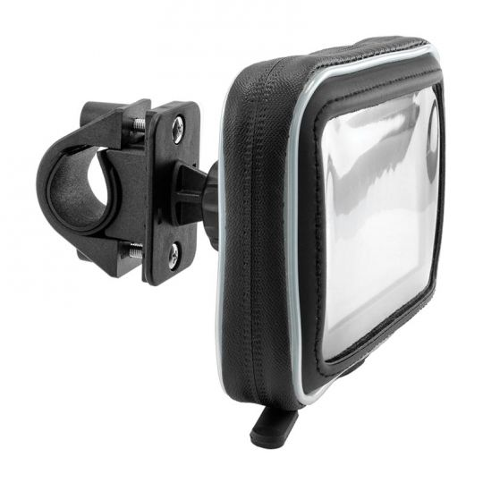 Gps Bike Handlebar Mount With Water Resistant Holder For 5 Garmin