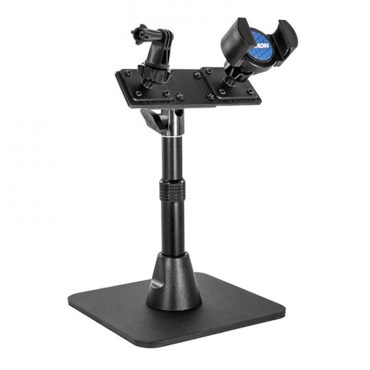 Tw Broadcaster Desk Stand For Gopro And Iphone Live Streaming On Periscope