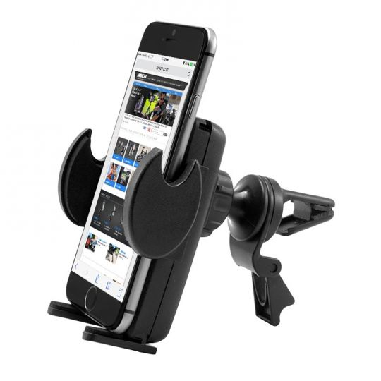 competitive price 71b3f a548c Mega Grip Air Vent Phone Car Holder Mount for iPhone X, 8, 7, 6S Plus, 7,  6S, Galaxy Note 8, S8, S7