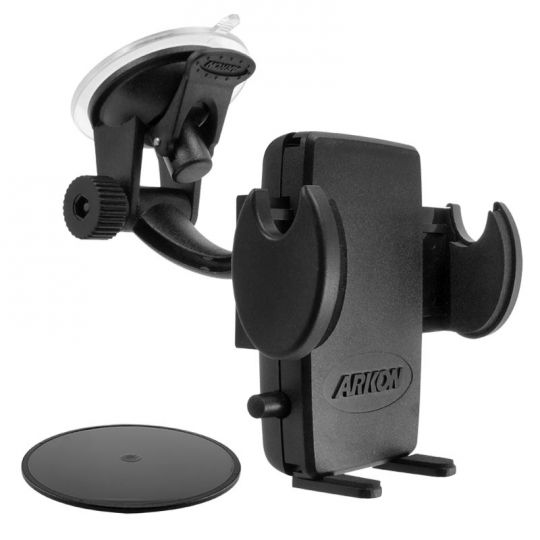 more photos 1be5b 0efe8 Mega Grip Windshield or Dash Phone Car Holder Mount for iPhone X, 8, 7  Plus, 8, 7, 6S Galaxy Note